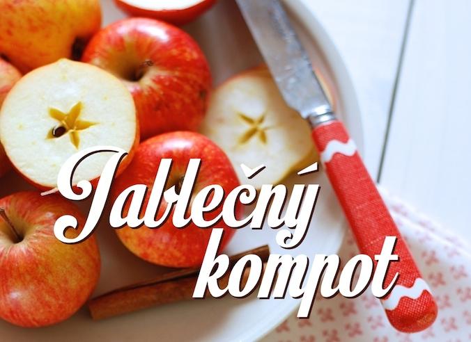 Jablečný kompot recept kuchařka pro dceru