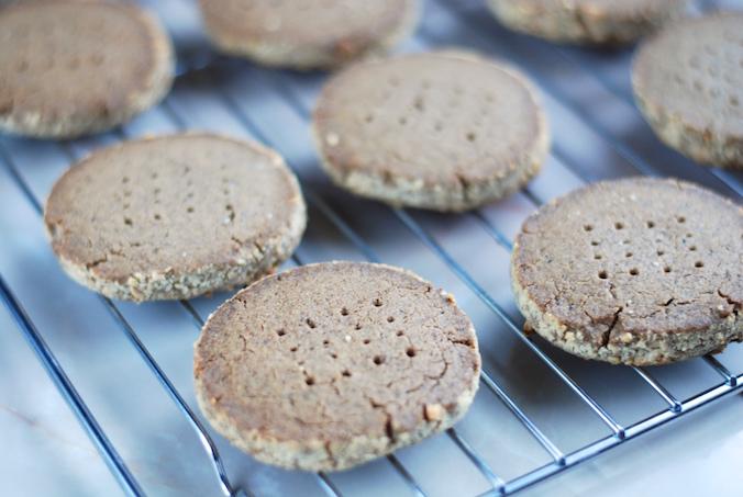Sušenky z žaludové mouky (Perunovy sušenky)