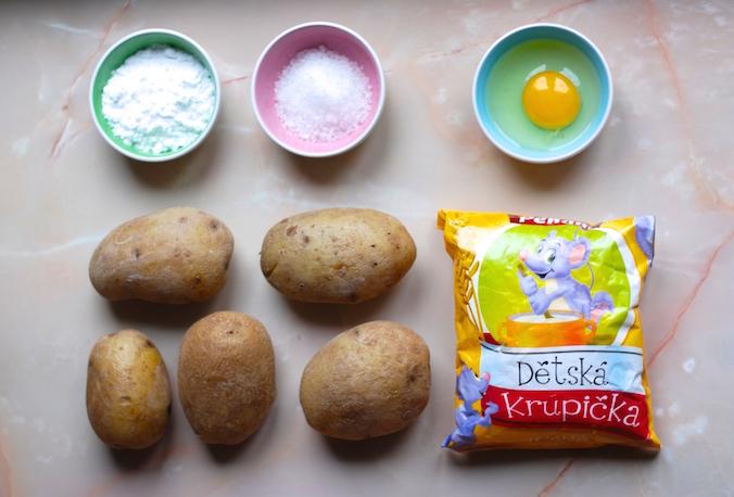 Bramborový knedlík recept - jaké použít suroviny