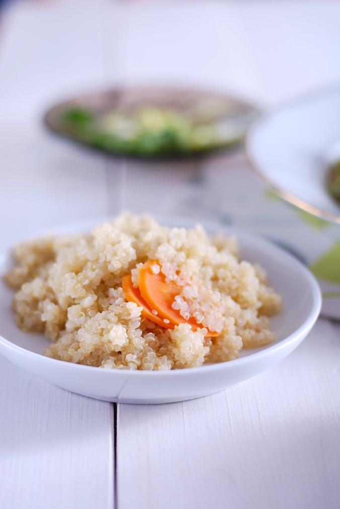 Dušená quinoa