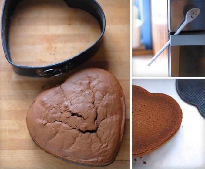 Pečení Sachr dortu