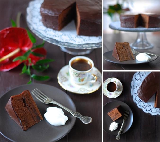 Sacher dort - recept podle Sachrovy kuchařky