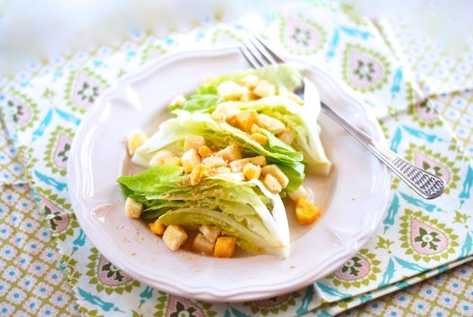 Hlávkový salát Mimóza