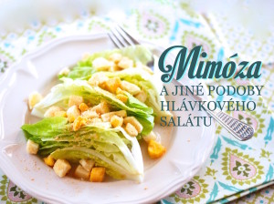 Recept salát mimóza