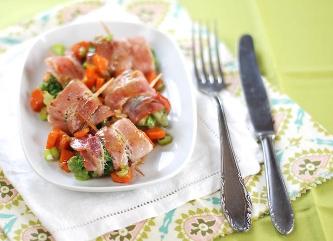 Salátové pralinky