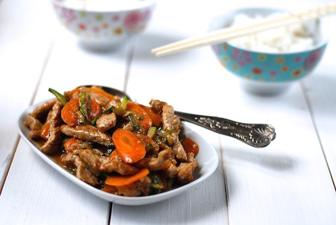 rychlá čína recept