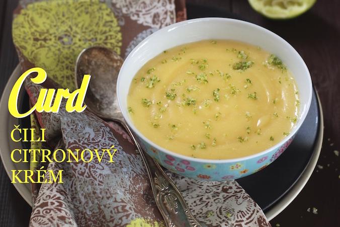 Lemon curd citronovy krem recept