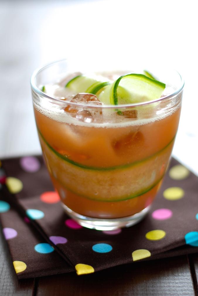 okurkovo melounové osvěžení