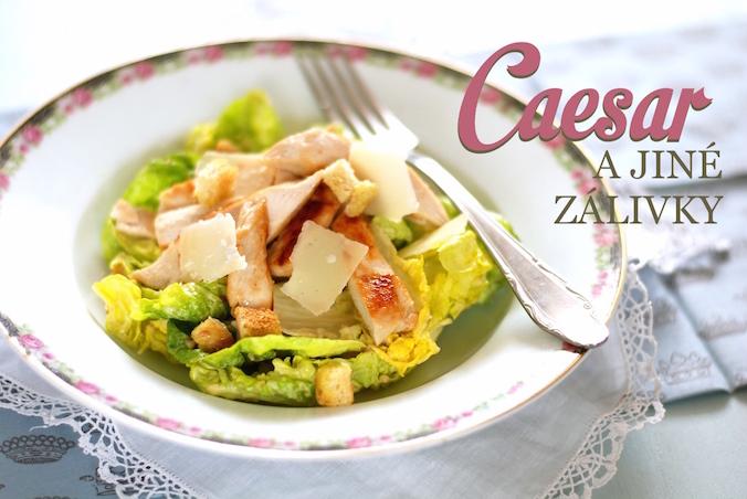 caesar salát zálivka recept