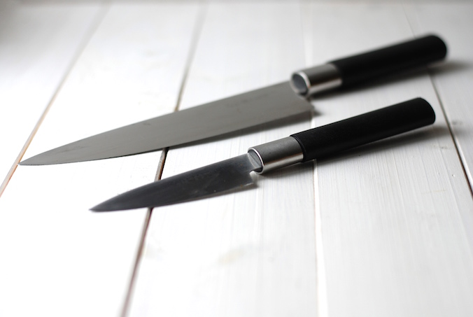 základní nože – Kai Wasabi black