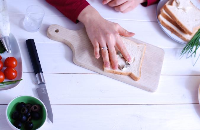 pečivo na chlebíčky