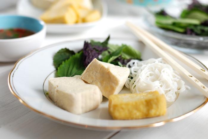vařené tofu