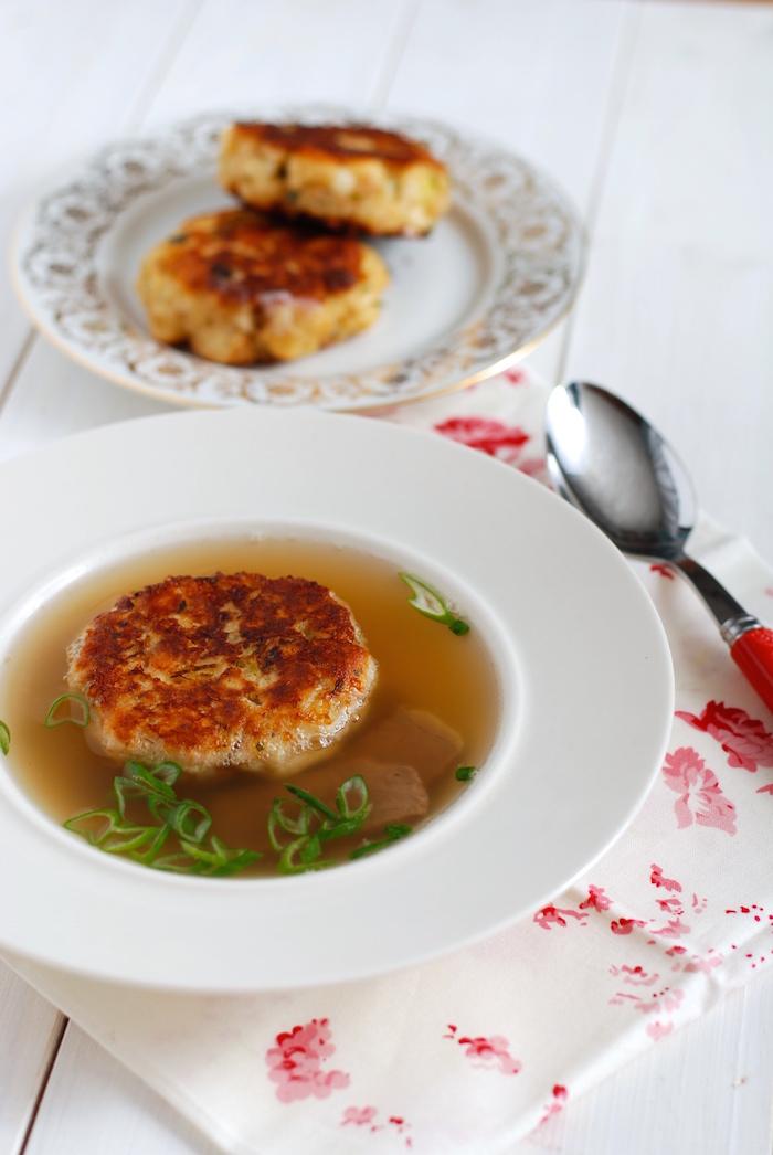 Vložka do polévky - Kaspressknödel