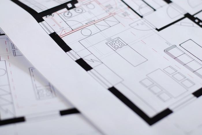 plánování kuchyně a uspořádání linky
