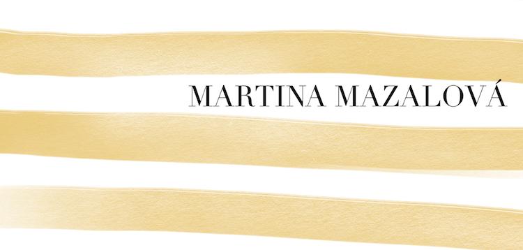 Martina Mazalová čtenářka týdne
