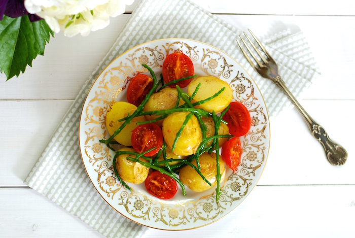 brambory rajčata slanorožec