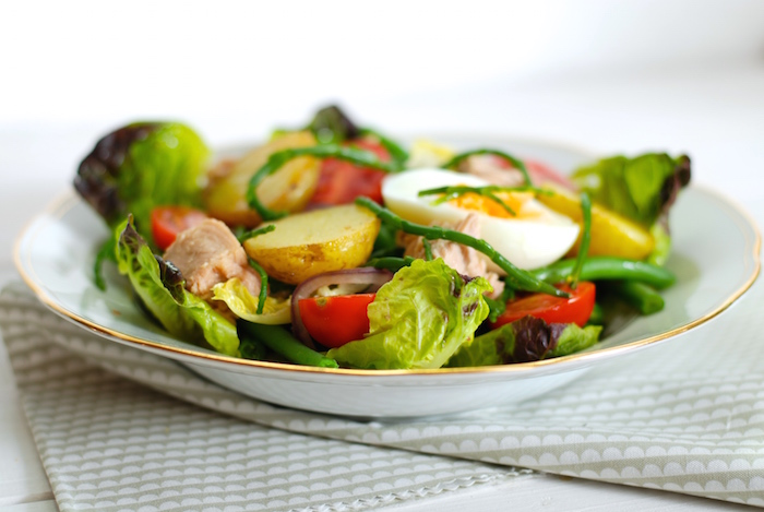 niceský salát se slanorožcem