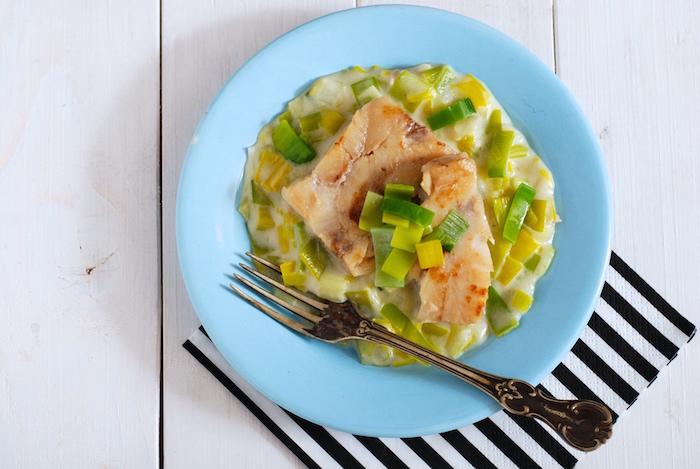 recept na rybí filé v mléčném pórku