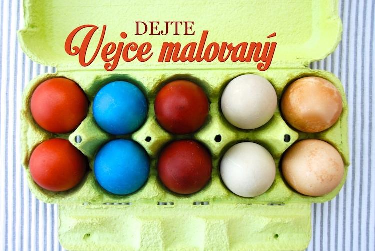 velikonční vajíčka
