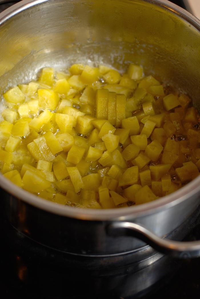 okurky dušené na másle