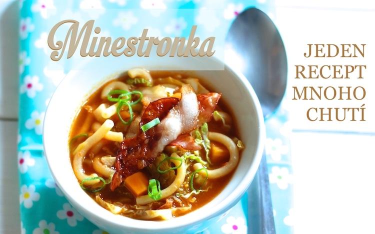 minestrone minestronka polévka