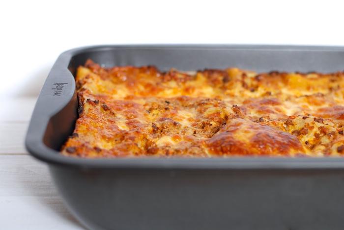 lasagne po upečení