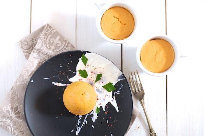 Zeleninový flan – mrkvový
