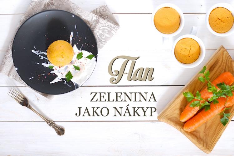 zeleninový flan