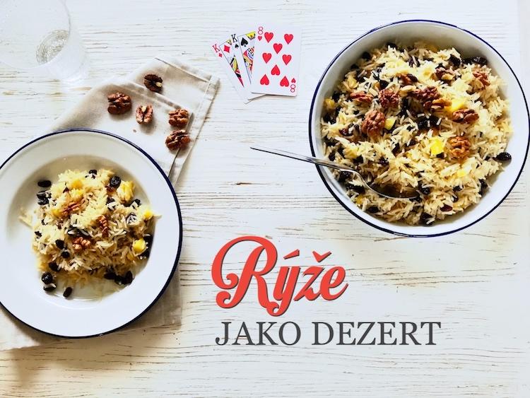 gruzijská sladká rýže