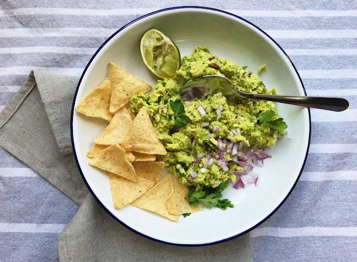guacamole základní recept