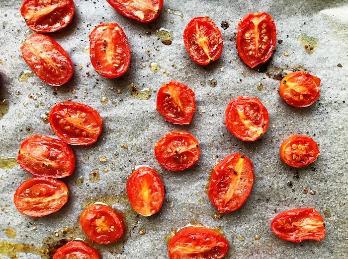 rajčata po upečení
