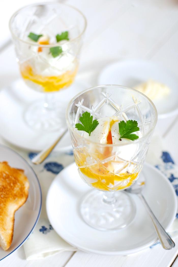 vejce do skla jak uvařit