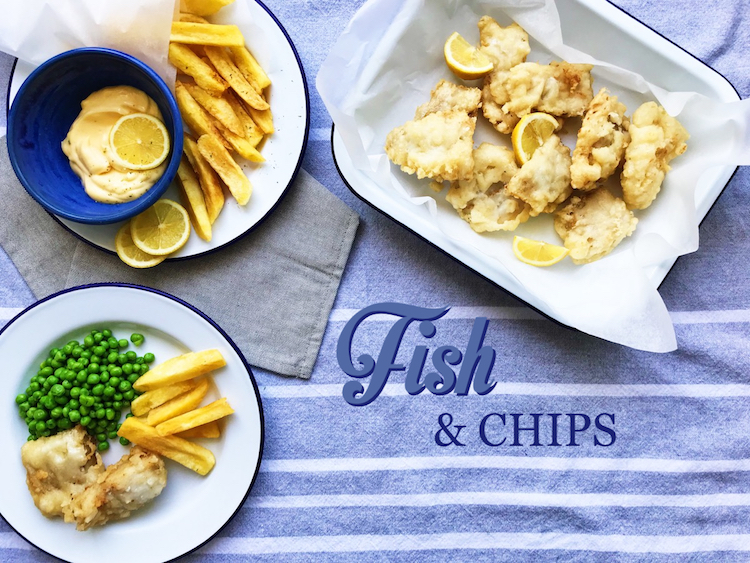 fish and chips – ryba v těstíčku