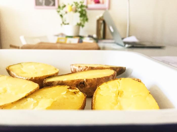 zchladnutí brambor