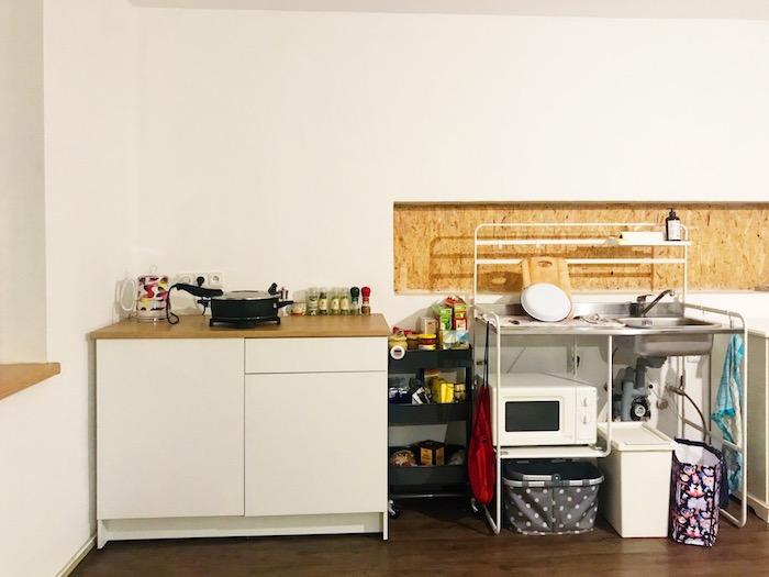 provizorní kuchyně IKEA