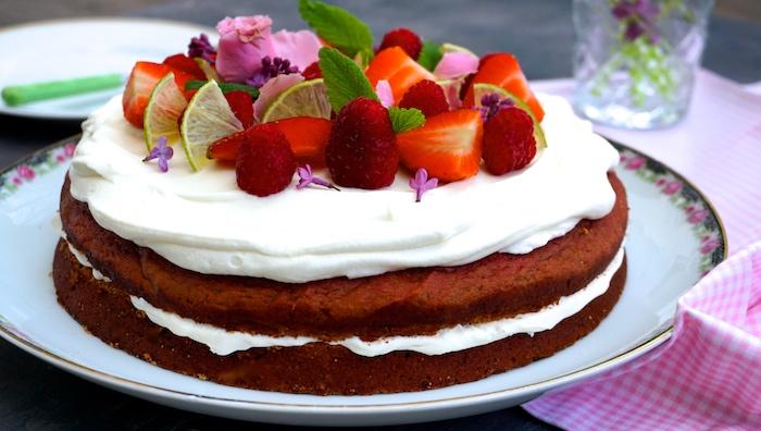 Red velvet cake s červenou řepou
