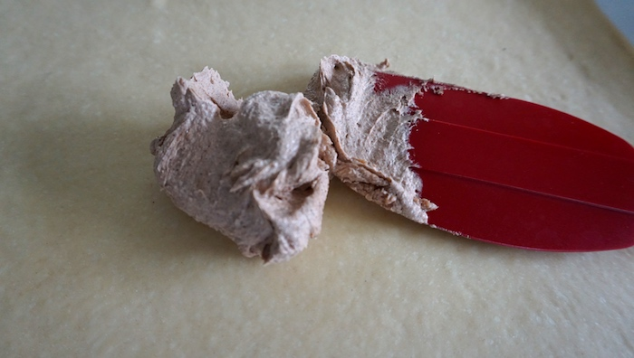 skořicové máslo roztírání na těsto