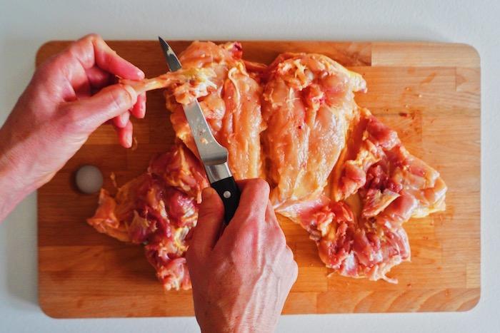 jak vykostit kuře krok za krokem prsa 17