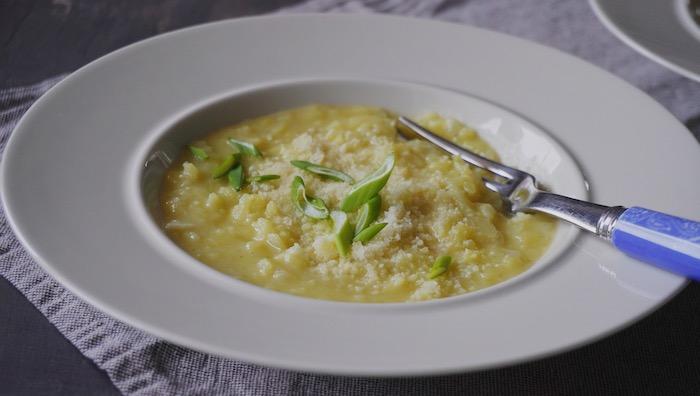 bramborové rizoto jako experiment