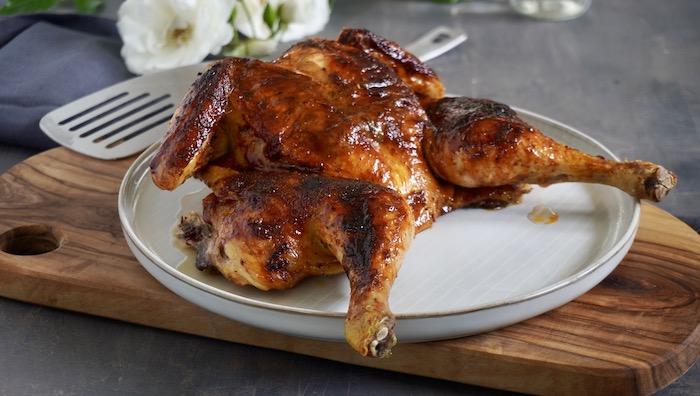 Kuře naplacato