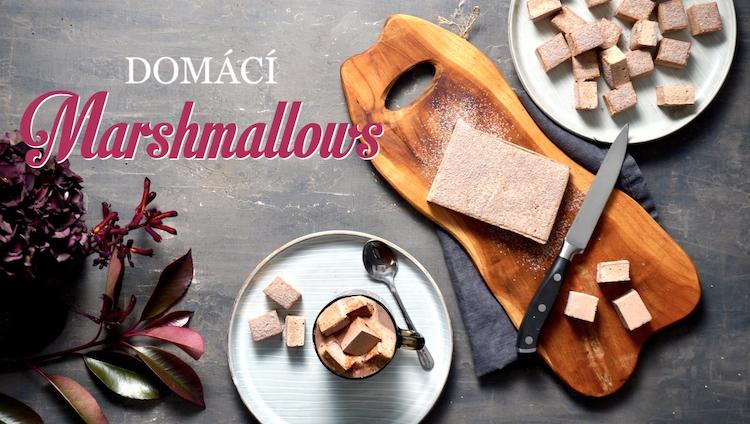 domácí marshmallows
