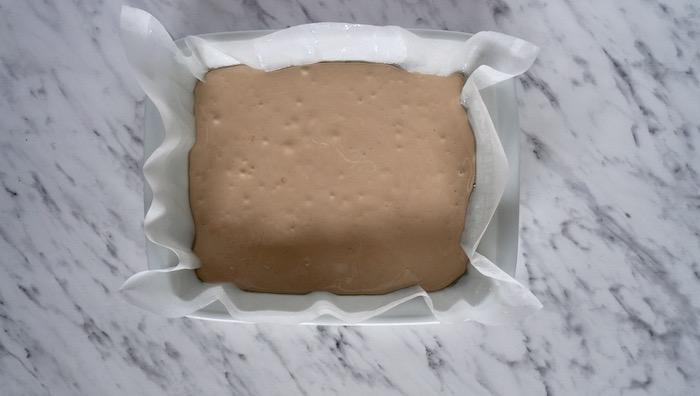 marshmallows před zatuhnutím