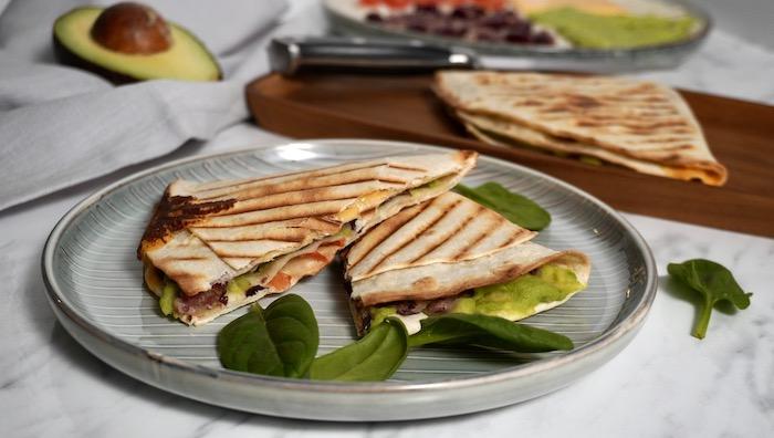 tortilla wrap recept
