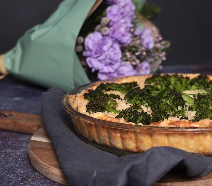 koláč s brokolicí recept
