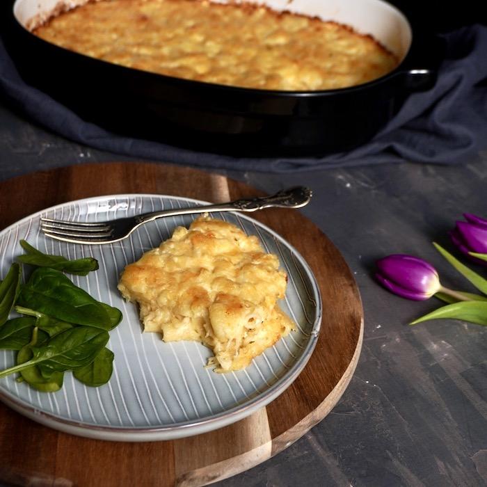 makarony se sýrem recept