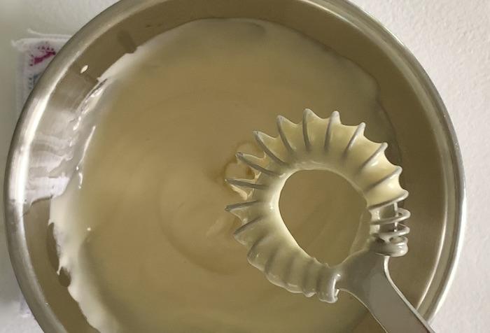 domácí majonéza 2. fáze