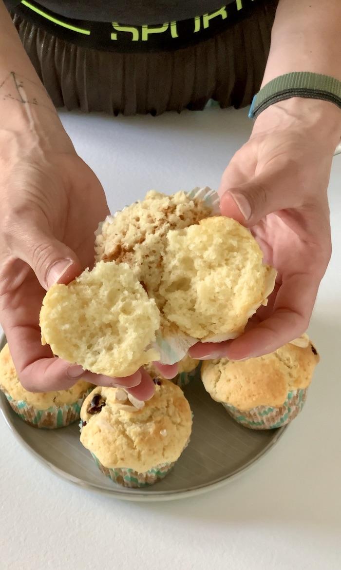 muffin uvnitř struktura