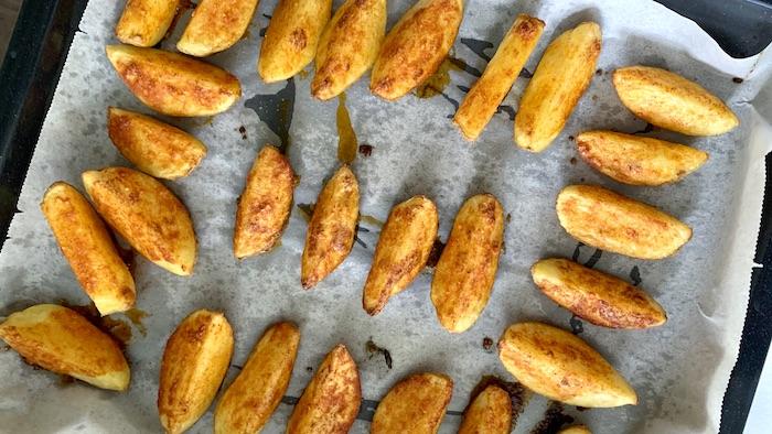 americké brambory ochucení